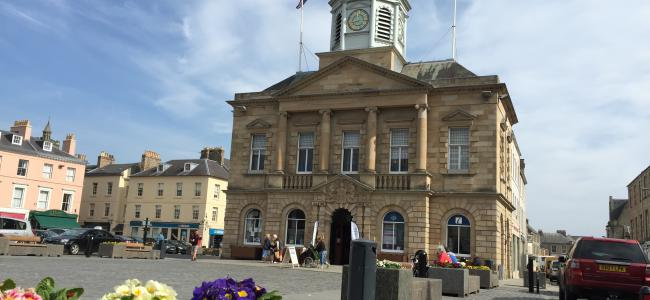 The Town Hall in beautiful Kelso