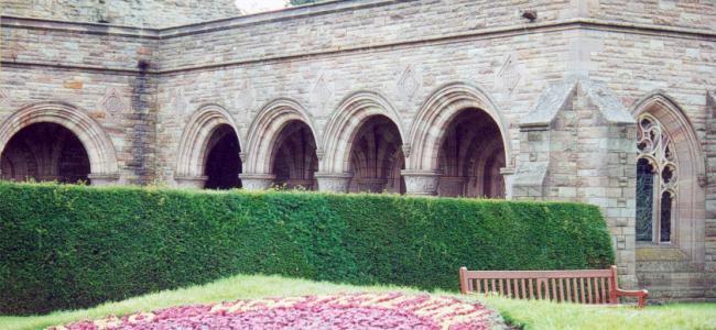 Kelso Abbey.