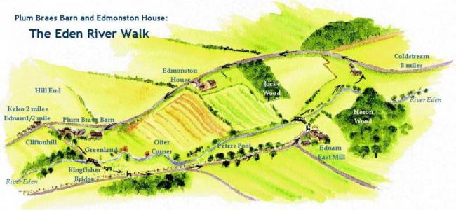 River Walk Map